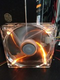 Orange fan and power LED!